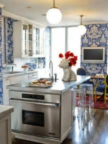 Blue And White Kitchen by Design Fixation Trend Alert Blue And White Kitchens