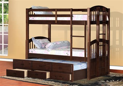 Bunk Beds With Trundle And Drawers Bunk Bed With Trundle And Storage Drawers Loft Bed Design