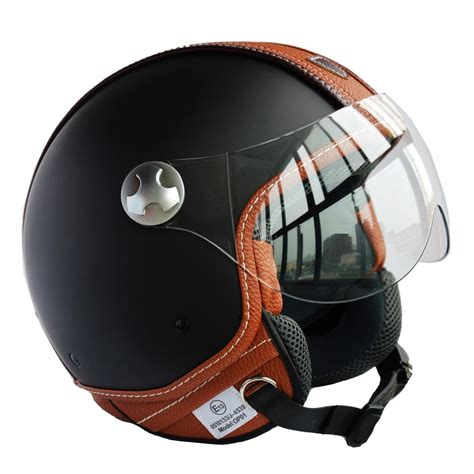 leather motorcycle helmet 2016 italian design ece dot motorcycle helmet unisex