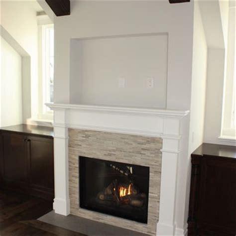 around fireplace tile design