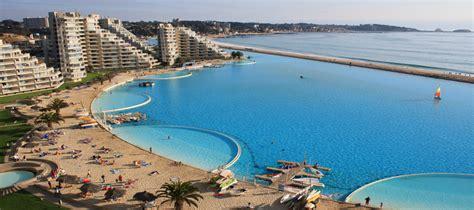 la pi 249 grande piscina mondo in cile 232 lunga oltre
