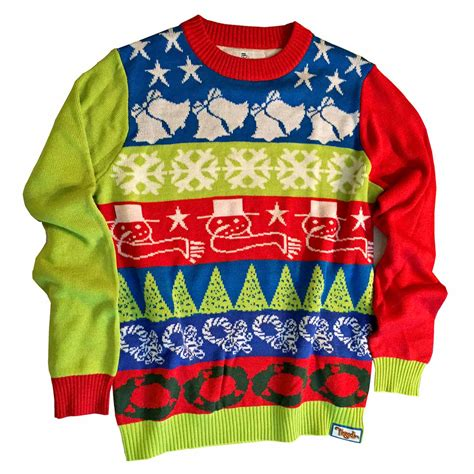 crazy bells ugly christmas sweater ugly christmas