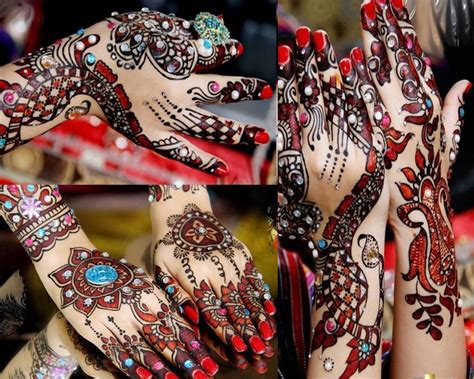 colored henna 2017 top 50 simple mehndi designs for in different