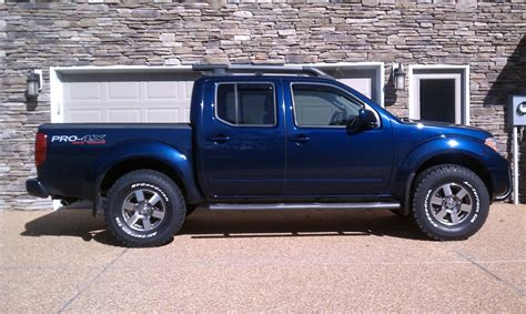 nissan frontier lift kit before and after nissan frontier pro 4x leveling kit