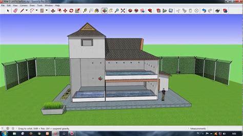 desain gedung walet rbw  meter  tingkat youtube