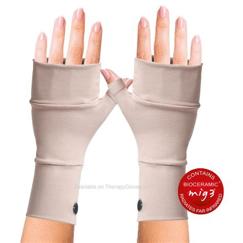 carpal tunnel ceramics mig3 bioceramic no finger infrared wrist gloves