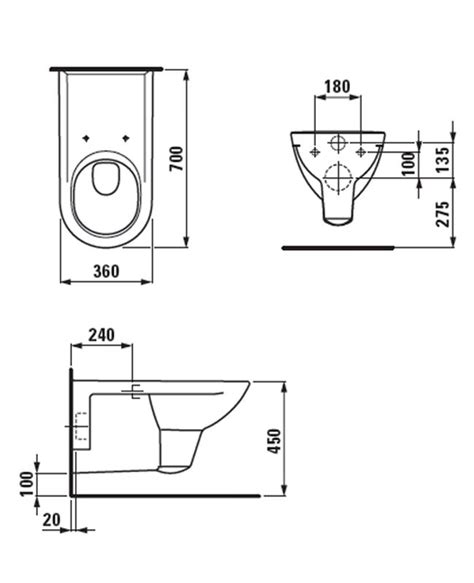 Wc Height From Floor by Laufen Pro Liberty Extended Wall Hung Wc Pan 700mm