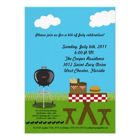 Picnic Invitation Card Sle green and brown table basket picnic invitation picnic