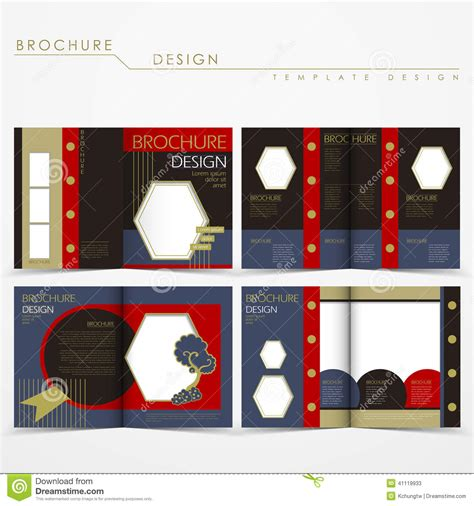 free fancy brochure templates best sles templates