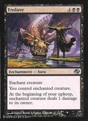 Mtg Magic The Gathering Benalish Commander Planar Chaos Singles enslave