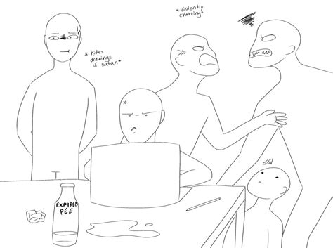 draw templates draw the squad template by haasiophis sahel on deviantart