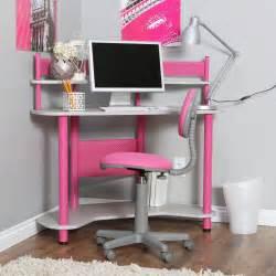 Childs Corner Desk Calico Study Corner Desk Pink