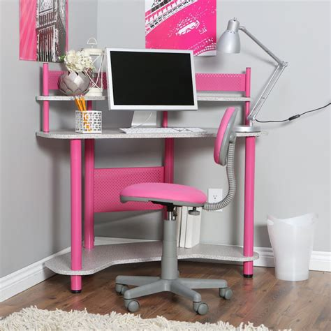 childrens bedroom desk and chair calico study corner desk pink