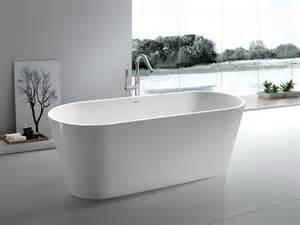 freistehende badewanne aus mineralguss freistehende badewanne bologna aus mineralguss wei 223 matt