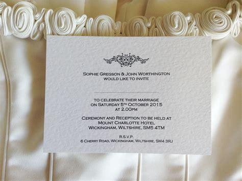 wedding invitations uk motif postcard wedding invitations wedding invites