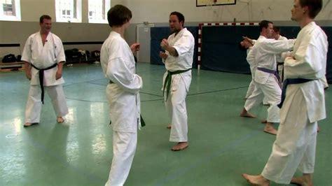 video tutorial karate karate training with sven grote at quot karateverein zanshin