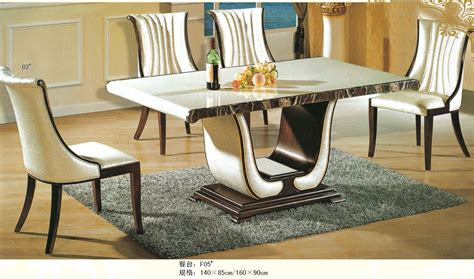 italian dining table and chairs luxury italian style furniture marble dining table 0442