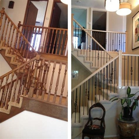 Interior Home Painting Cost before and after traditional staircase other metro