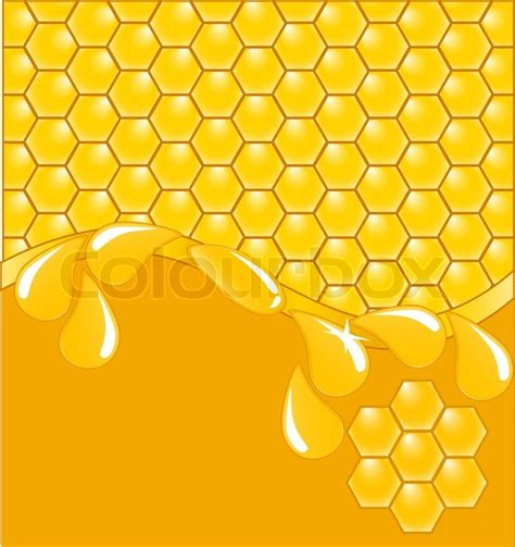 honeycomb pattern corel draw vector vector illustration of a honeycomb pattern stock vector
