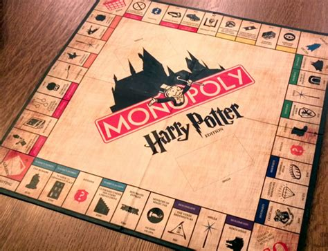 harry potter printable board games harry potter monopoly geek crafts