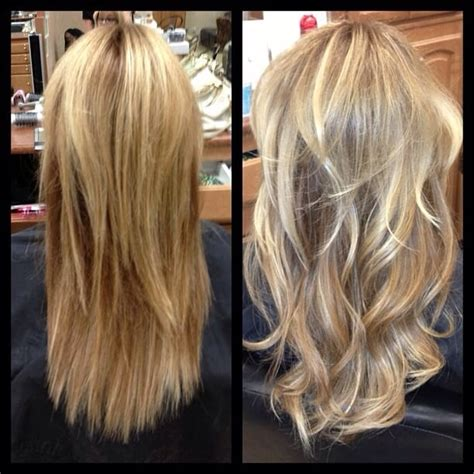 hairstyles layered with tape in extensons before and after tape in hotheads hair extensions