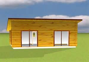 chalet en bois toit plat chalet bois en kit toit plat