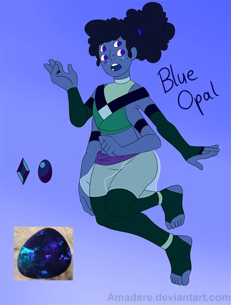 blue opal gemsona gemsona fusion blue opal by saccharinerose on deviantart