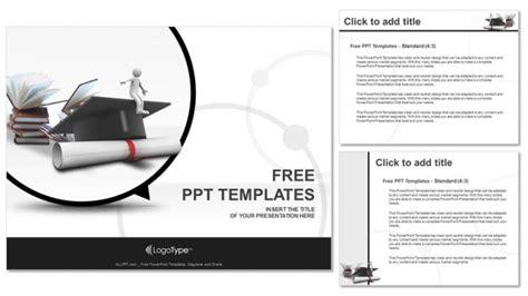 layout powerpoint portrait man graduation portrait education powerpoint templates