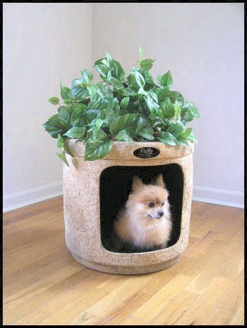 disguised dog and cat litter box planter gadgetking com
