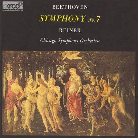 Beethoven Symphony 7 | reiner beethoven symphony no 7 wavpack boxset ru