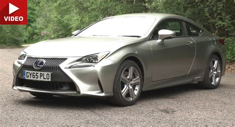 2017 lexus coupes 2017 lexus rc coupe review reveals the bad of