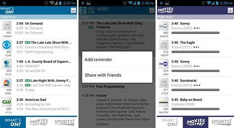 tv listings for android best android apps for tv and potatoes android authority