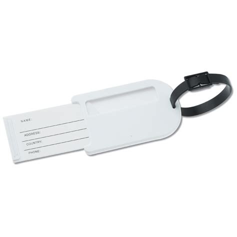 simple printable luggage tags c125836 cl is no longer available 4imprint promotional