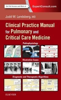 clinical practice manual for pulmonary and critical care