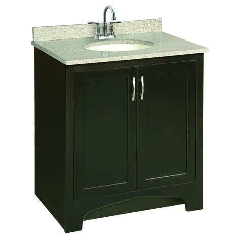 Unassembled Bathroom Vanity Cabinets Design House Ventura 30 In W X 21 In D Two Door Unassembled Vanity Cabinet Only In Espresso