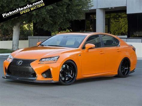 gsf lexus orange lexus sema concepts pistonheads