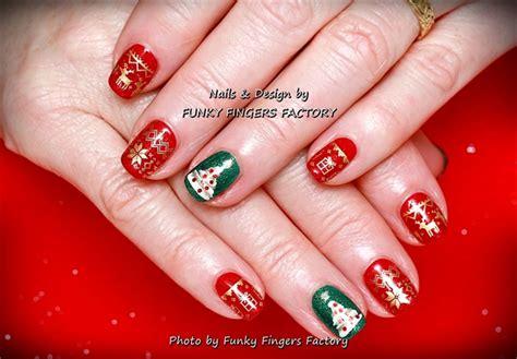 Decorating Slim Christmas Tree Ideas Gelish Christmas Nails Christmas Decore