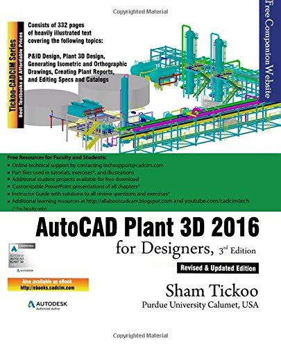 tutorial autocad plant 3d pdf pdf books autocad plant 3d 2016 for designers 3rd edition