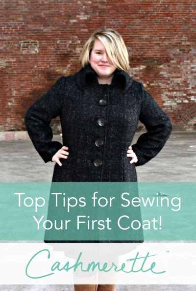 how to sew a winter coat for a dog top tips for sewing your first coat cashmerette
