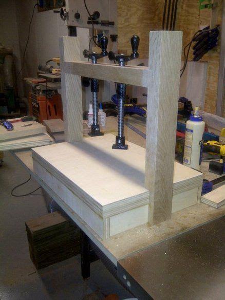 quick build veneer press tools woodworking tools