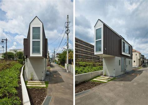 Small Japanese Homes Tiny Triangular Japanese House Narrowly Fits Its Plot