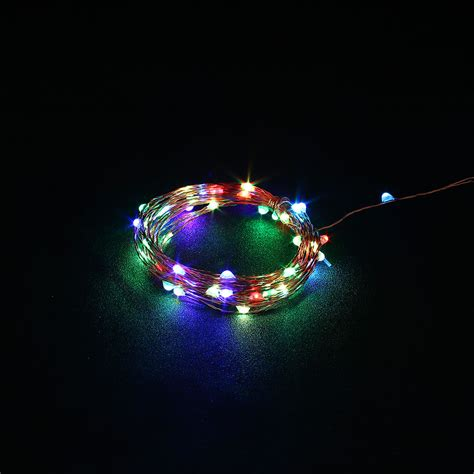 10m usb christmas copper cord 100 led string light