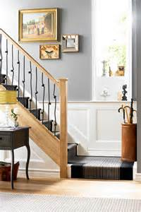 Decoration For A Banister Metal Grey Hallway Ideas D 233 Cor Amp Accessories