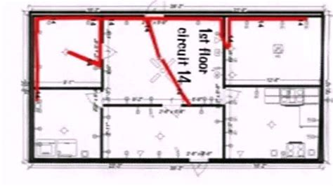electrical floor plan sle floor plan with electrical wiring youtube