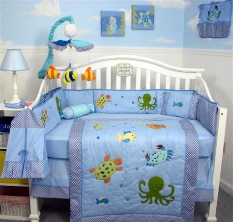 Sea Themed Crib Bedding Theme Baby Bedding