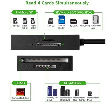 Card Reader Otg Utk Hp Pc Laptop Etc Quality card reader multifungsi usb 3 0 dengan micro usb otg black jakartanotebook