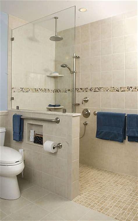 Universal Design Bathrooms - best 25 open showers ideas on small bathroom