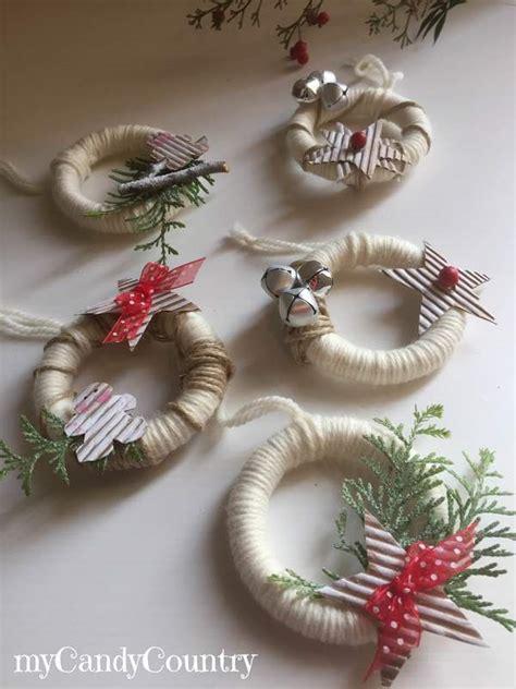 tende di natale fai da te white together ghirlanda natalizia con anelli