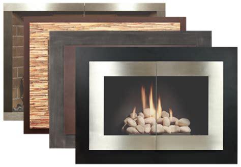 glass fireplace doors island ny stove