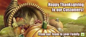 happy thanksgiving thank you to all our customers demark home ontario
